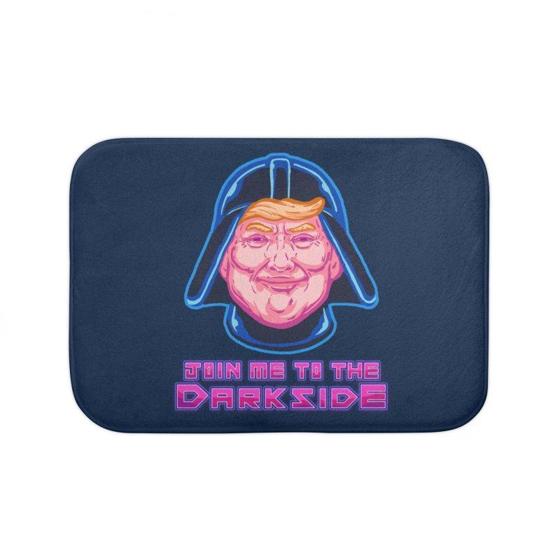 Trump to Darkside Home Bath Mat by villainmazk's Artist Shop