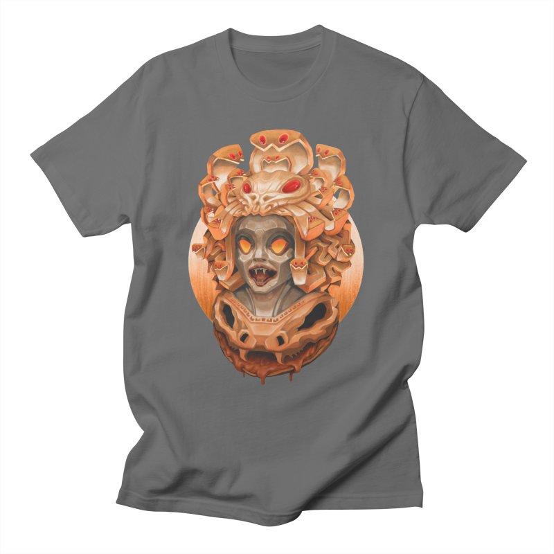Golden Medusa Men's T-Shirt by villainmazk's Artist Shop