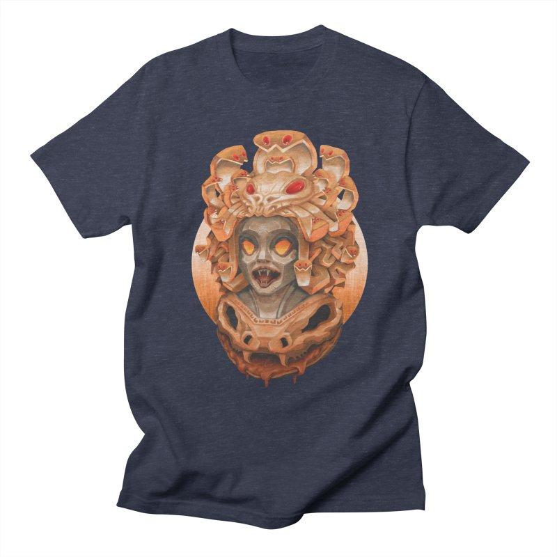 Golden Medusa Women's Regular Unisex T-Shirt by villainmazk's Artist Shop