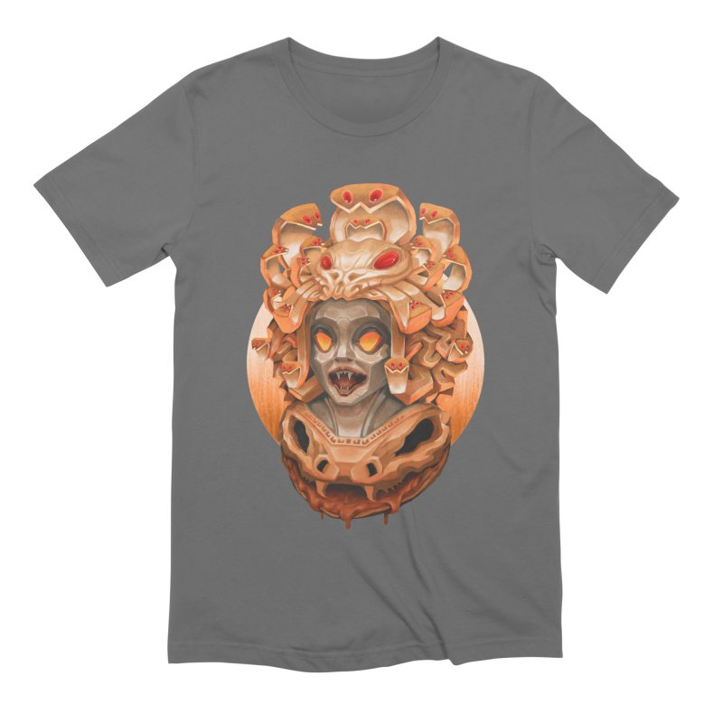 Golden Medusa Men's Extra Soft T-Shirt by villainmazk's Artist Shop