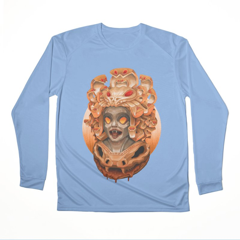 Golden Medusa Men's Performance Longsleeve T-Shirt by villainmazk's Artist Shop