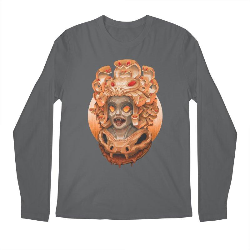 Golden Medusa Men's Longsleeve T-Shirt by villainmazk's Artist Shop