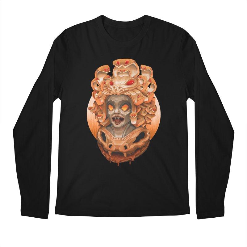 Golden Medusa Men's Regular Longsleeve T-Shirt by villainmazk's Artist Shop