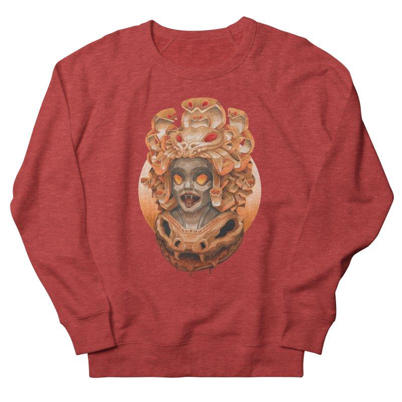 Golden Medusa Men's French Terry Sweatshirt by villainmazk's Artist Shop