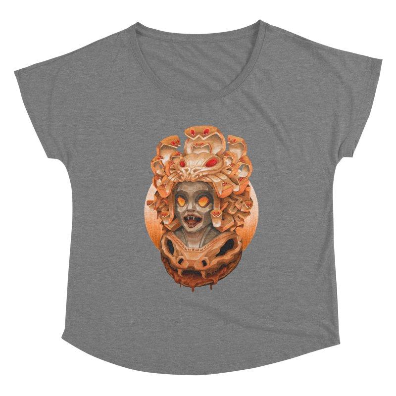 Golden Medusa Women's Scoop Neck by villainmazk's Artist Shop