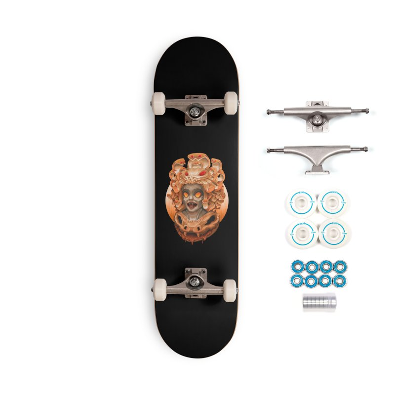 Golden Medusa Accessories Complete - Basic Skateboard by villainmazk's Artist Shop