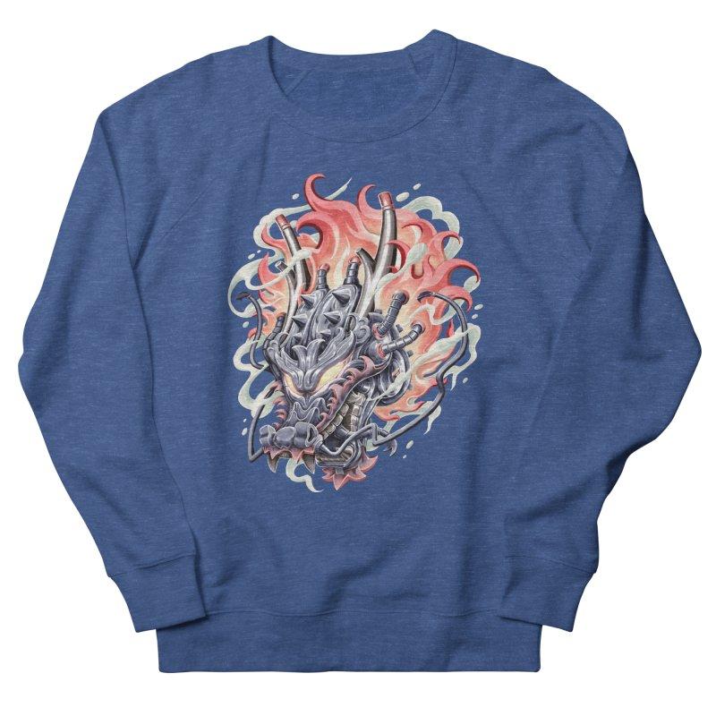 Dragon Steam Men's Sweatshirt by villainmazk's Artist Shop