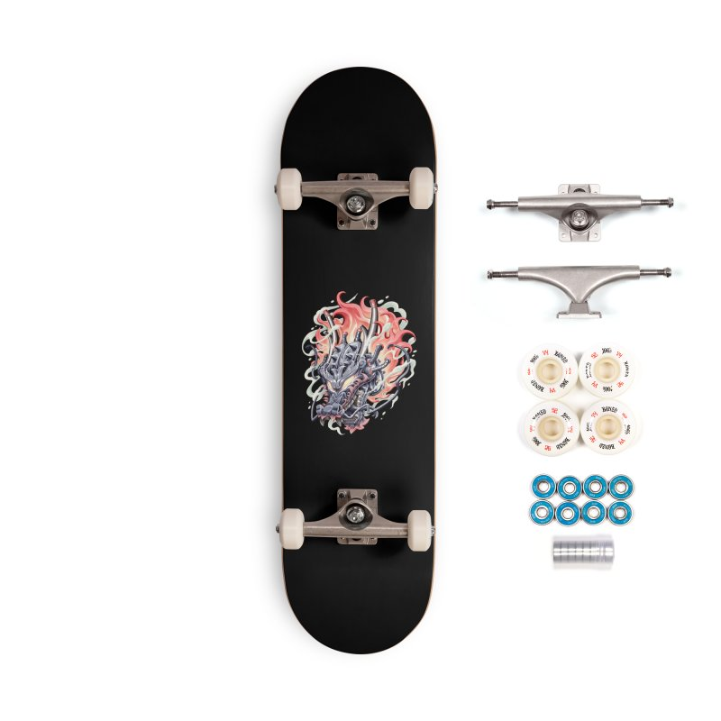 Dragon Steam Accessories Complete - Premium Skateboard by villainmazk's Artist Shop