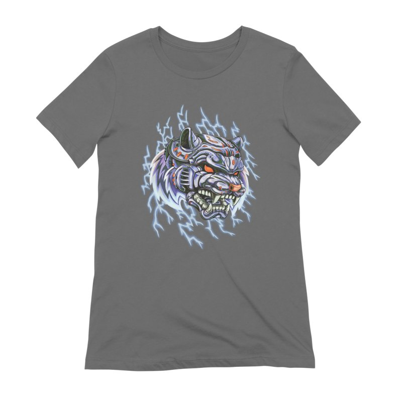 Thunder Tiger Women's T-Shirt by villainmazk's Artist Shop
