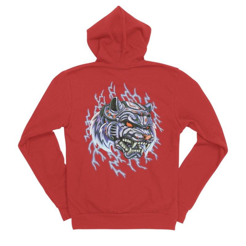 Thunder Tiger Women's Zip-Up Hoody by villainmazk's Artist Shop