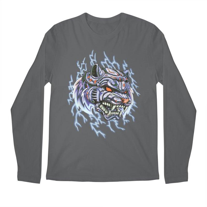 Thunder Tiger Men's Longsleeve T-Shirt by villainmazk's Artist Shop