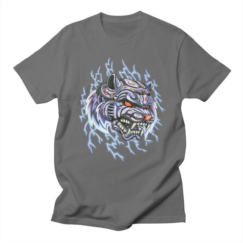 Thunder Tiger Men's T-Shirt by villainmazk's Artist Shop