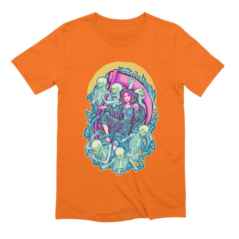 The Girl Reaper Men's Extra Soft T-Shirt by villainmazk's Artist Shop