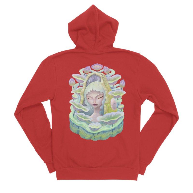 Purple Lotus Women's Zip-Up Hoody by villainmazk's Artist Shop