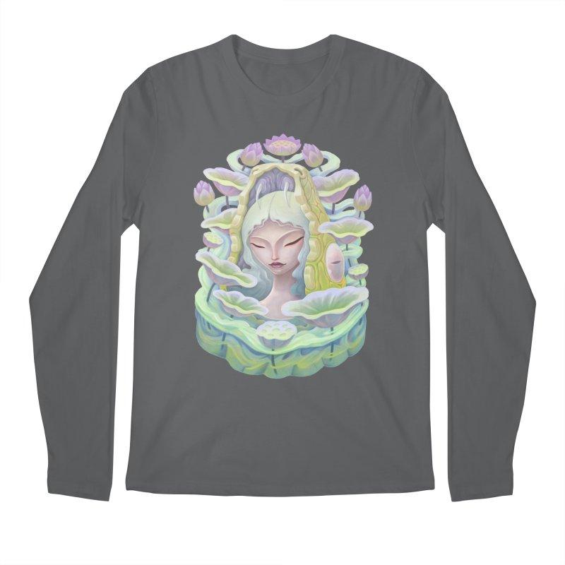 Purple Lotus Men's Longsleeve T-Shirt by villainmazk's Artist Shop