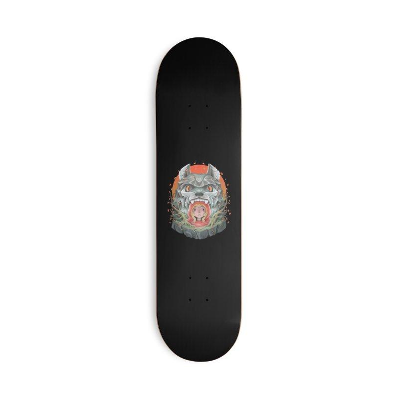 Red Hood tale Accessories Skateboard by villainmazk's Artist Shop