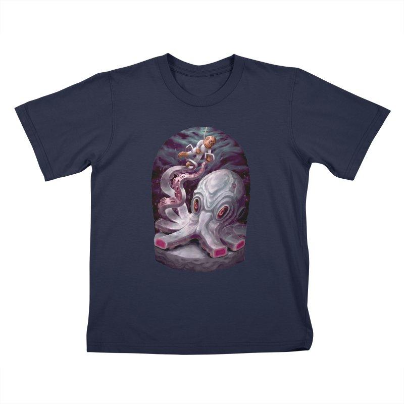 Giant Kraken Kids T-Shirt by villainmazk's Artist Shop