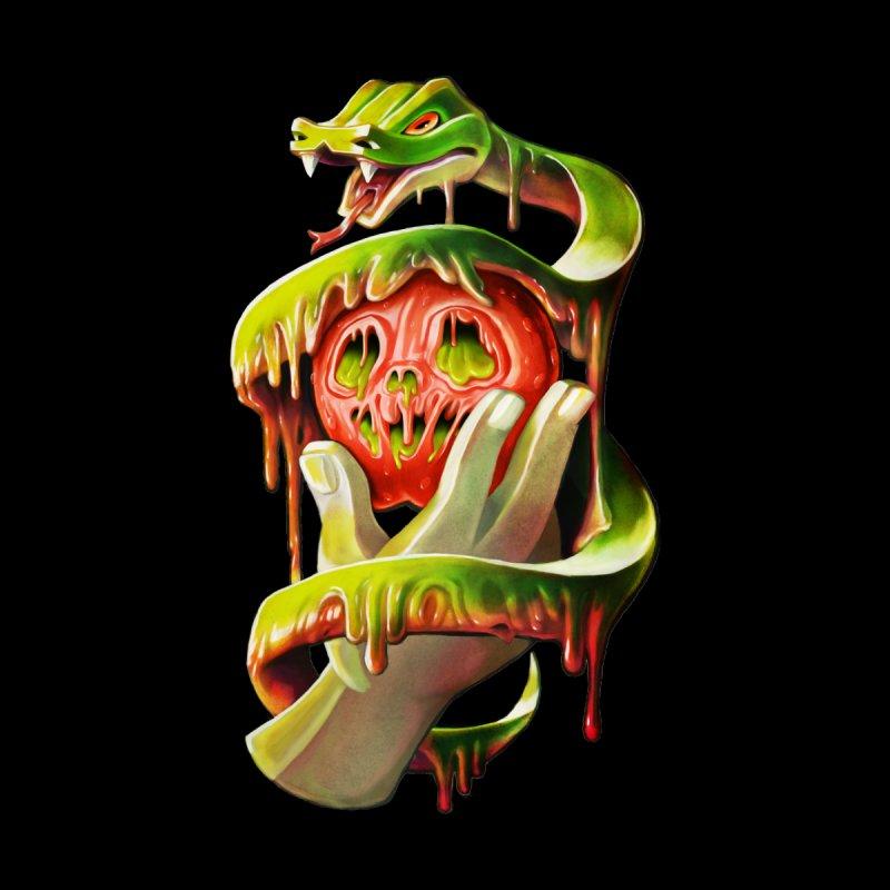 Snake & Apple of Eden Women's Zip-Up Hoody by villainmazk's Artist Shop