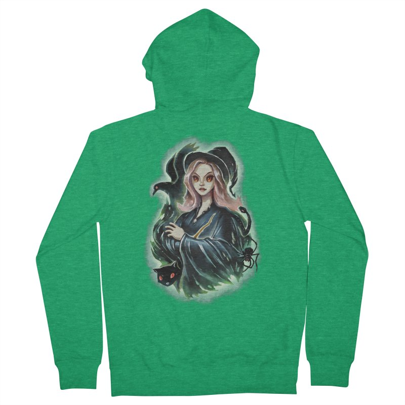 Witch and Dark Pets Men's Zip-Up Hoody by villainmazk's Artist Shop
