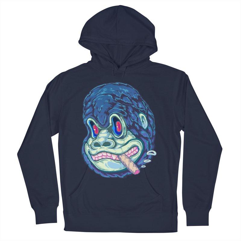 Smoking King Kong Men's Pullover Hoody by villainmazk's Artist Shop