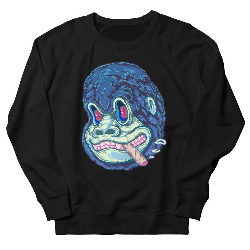 Smoking King Kong Men's Sweatshirt by villainmazk's Artist Shop