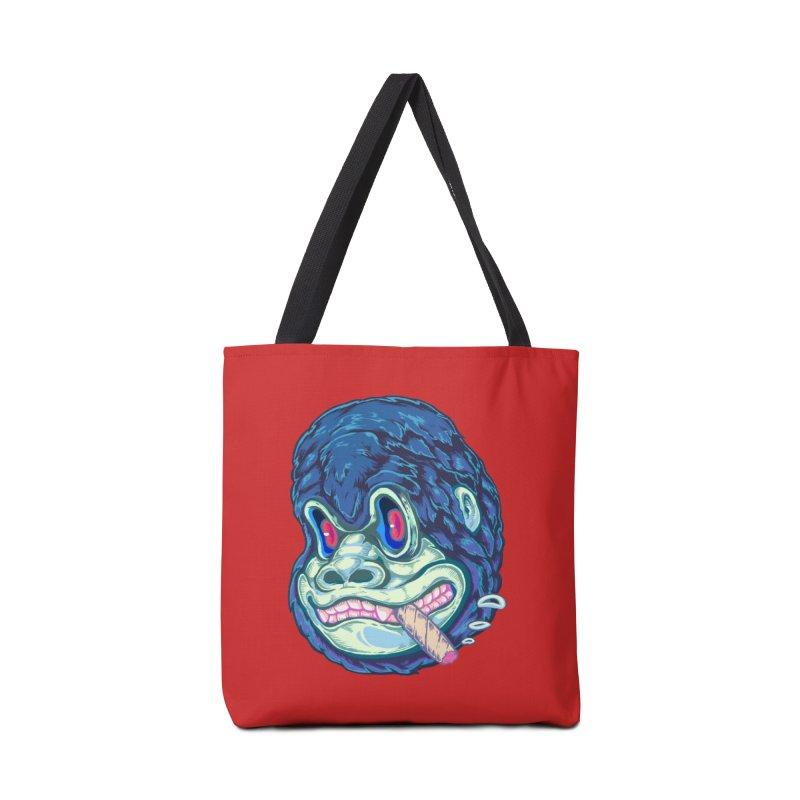 Smoking King Kong Accessories Bag by villainmazk's Artist Shop