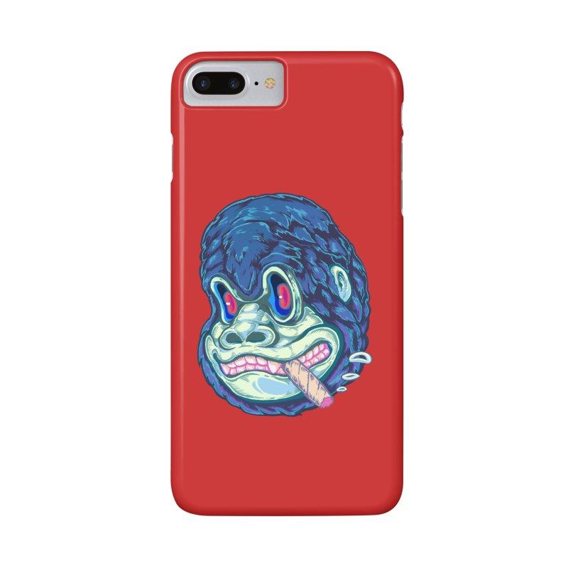 Smoking King Kong Accessories Phone Case by villainmazk's Artist Shop