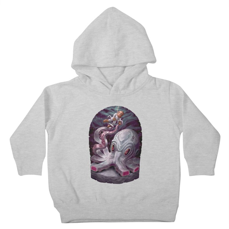 Giant Kraken Kids Toddler Pullover Hoody by villainmazk's Artist Shop