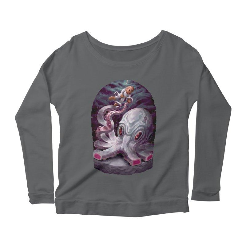 Giant Kraken Women's Longsleeve T-Shirt by villainmazk's Artist Shop
