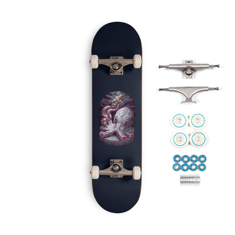 Giant Kraken Accessories Skateboard by villainmazk's Artist Shop