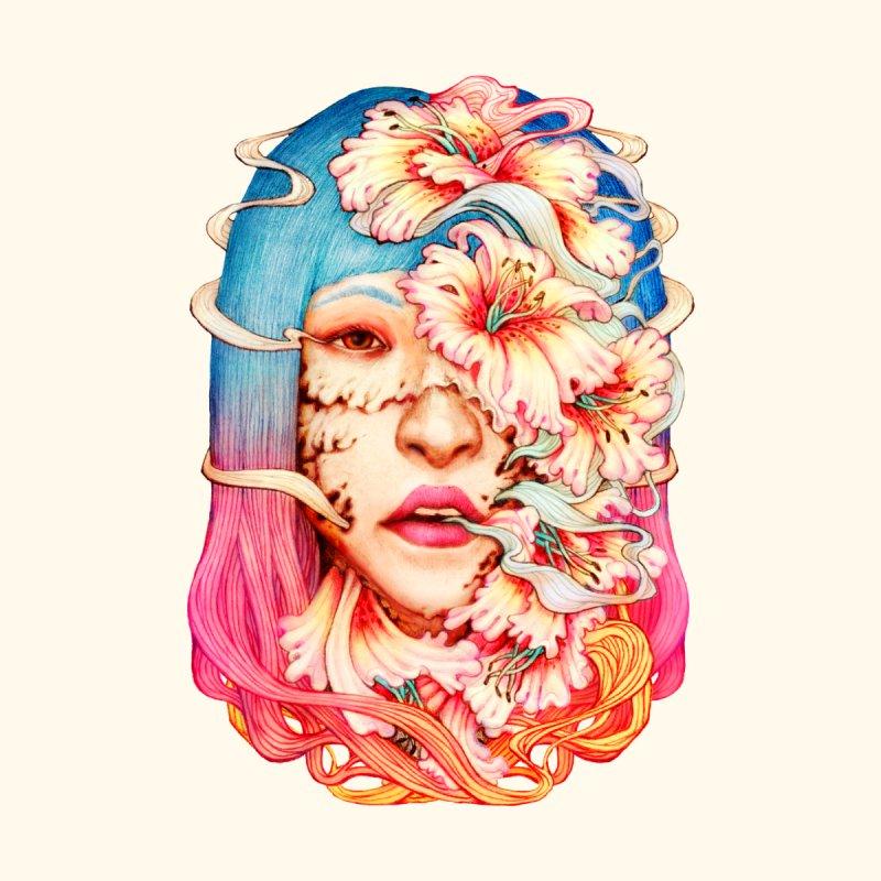 The Shape of Flowers Men's Tank by villainmazk's Artist Shop