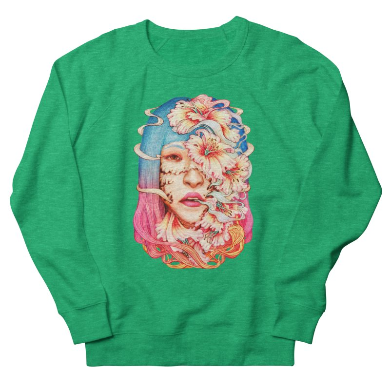 The Shape of Flowers Women's Sweatshirt by villainmazk's Artist Shop