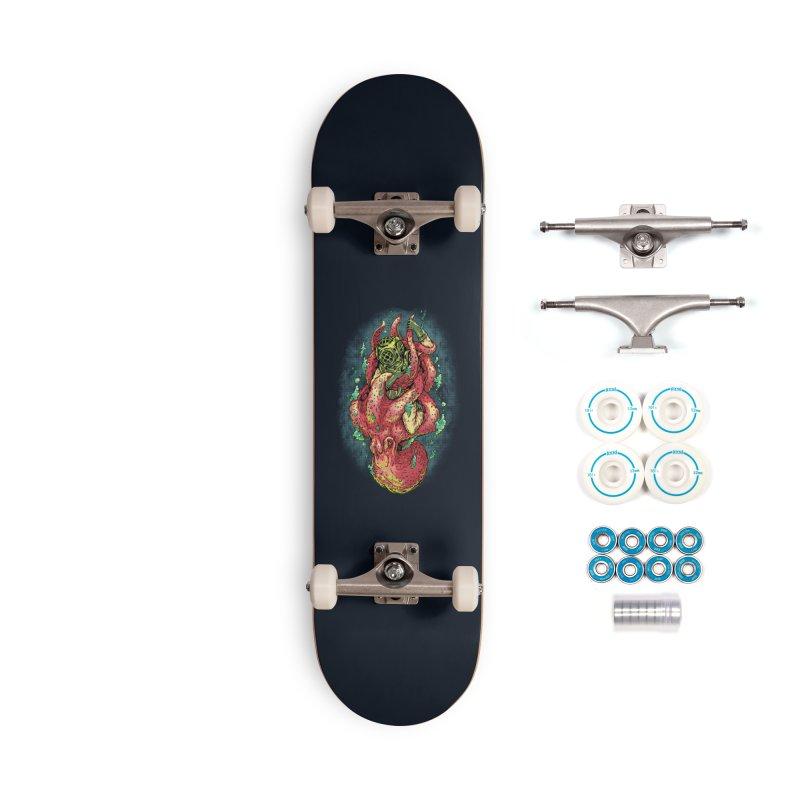 Deep Sea Survival Accessories Skateboard by villainmazk's Artist Shop
