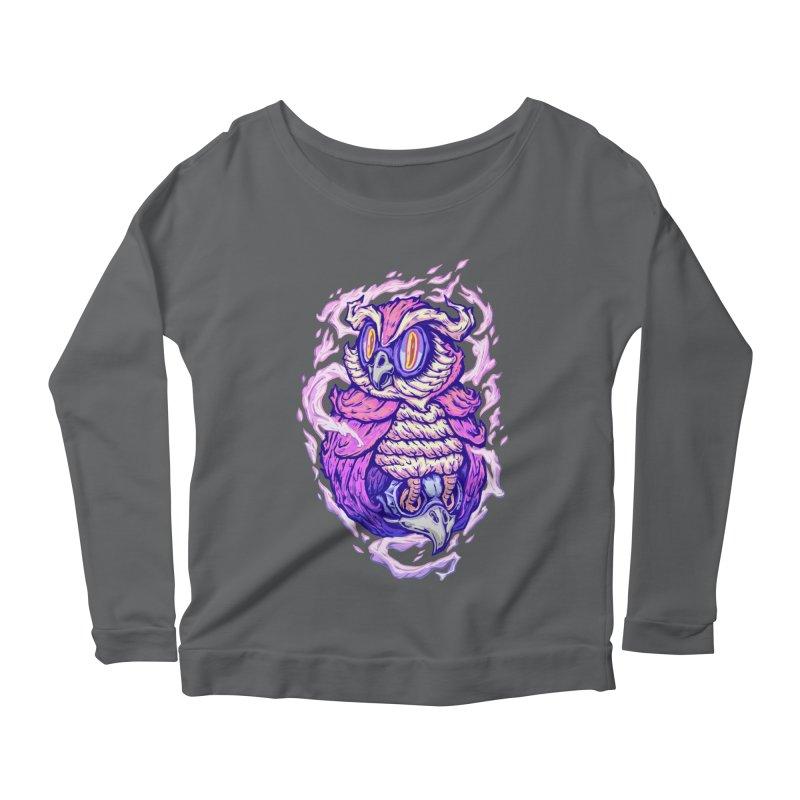 Owl Spirit Women's Longsleeve T-Shirt by villainmazk's Artist Shop