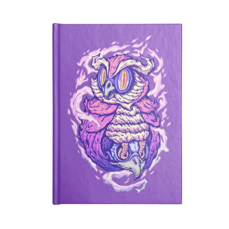 Owl Spirit Accessories Notebook by villainmazk's Artist Shop