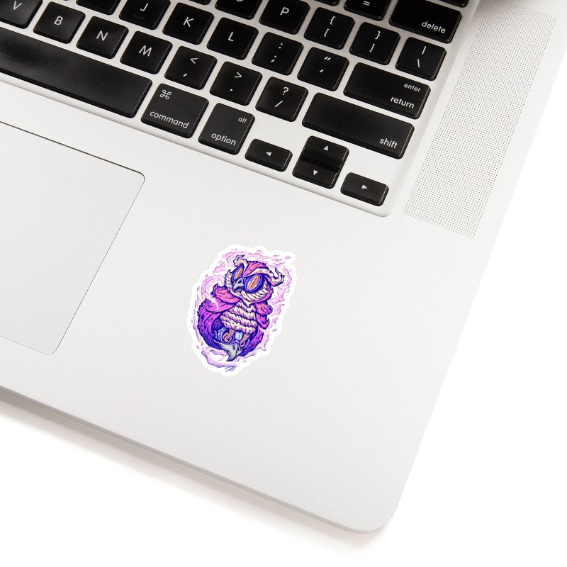 Owl Spirit Accessories Sticker by villainmazk's Artist Shop