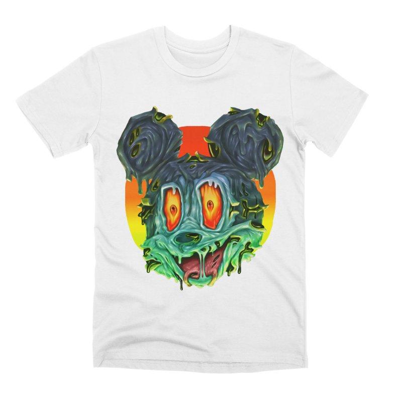 Horror Mouse Men's T-Shirt by villainmazk's Artist Shop