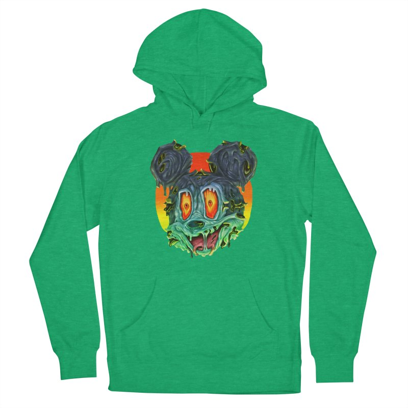 Horror Mouse Women's Pullover Hoody by villainmazk's Artist Shop