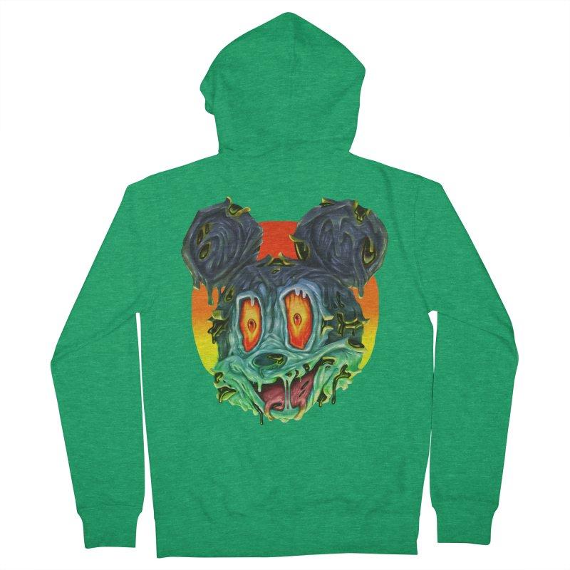 Horror Mouse Women's Zip-Up Hoody by villainmazk's Artist Shop