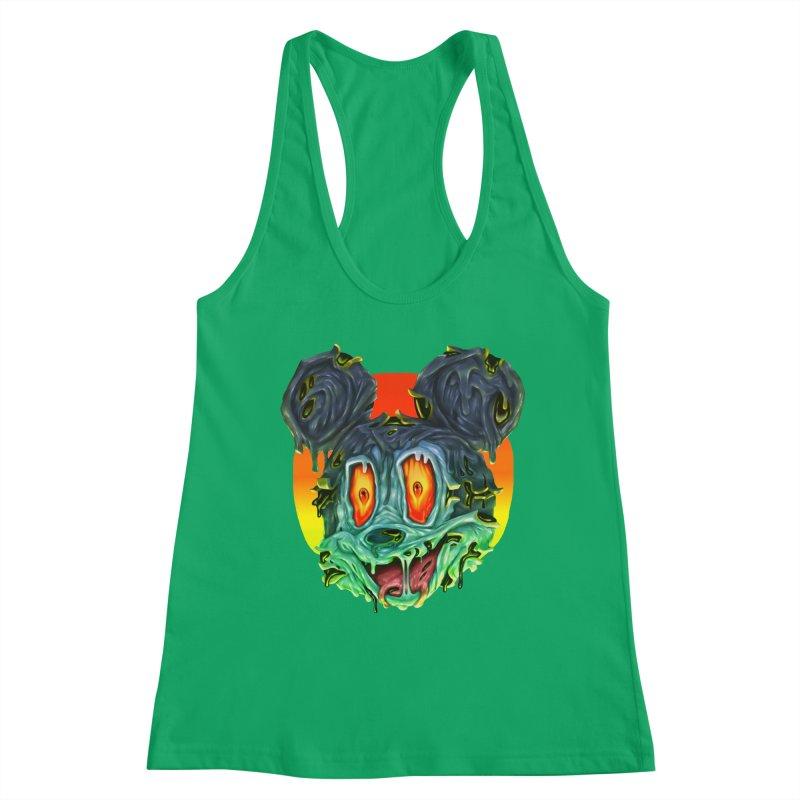 Horror Mouse Women's Tank by villainmazk's Artist Shop
