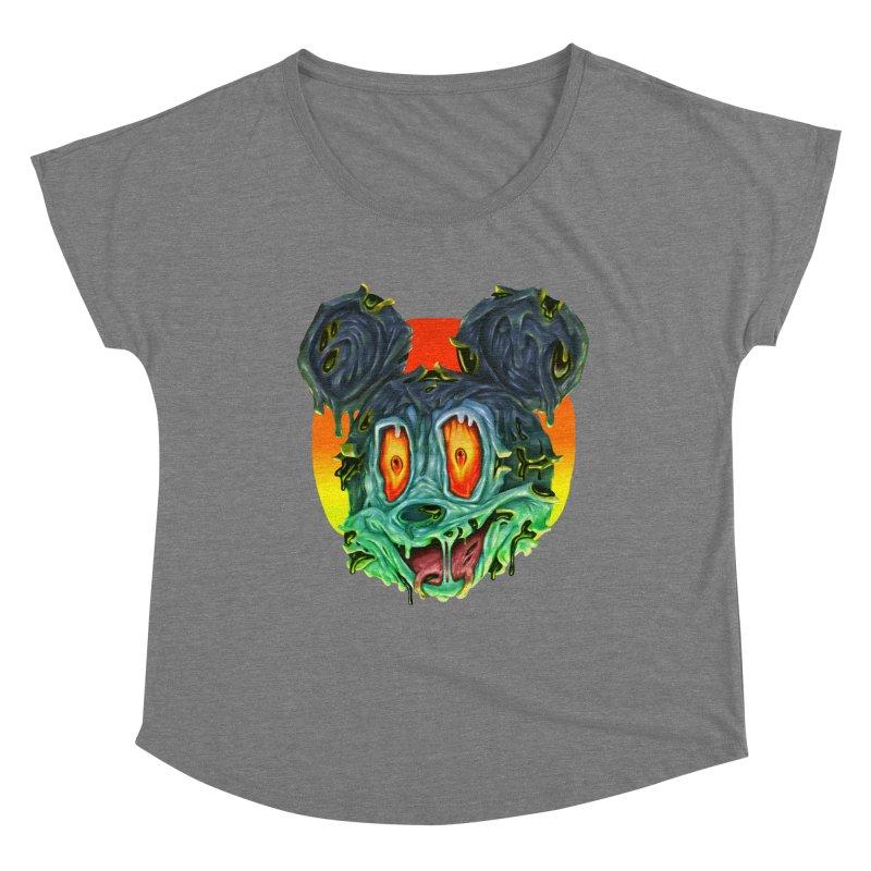 Horror Mouse Women's Scoop Neck by villainmazk's Artist Shop