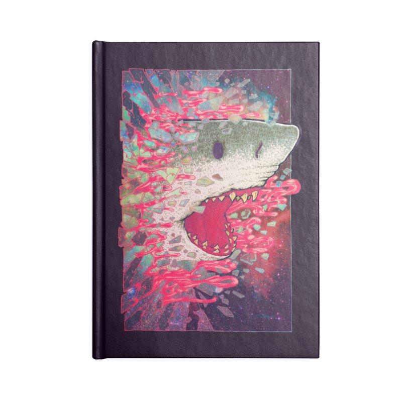 SHARK FROM OUTER SPACE Accessories Notebook by villainmazk's Artist Shop
