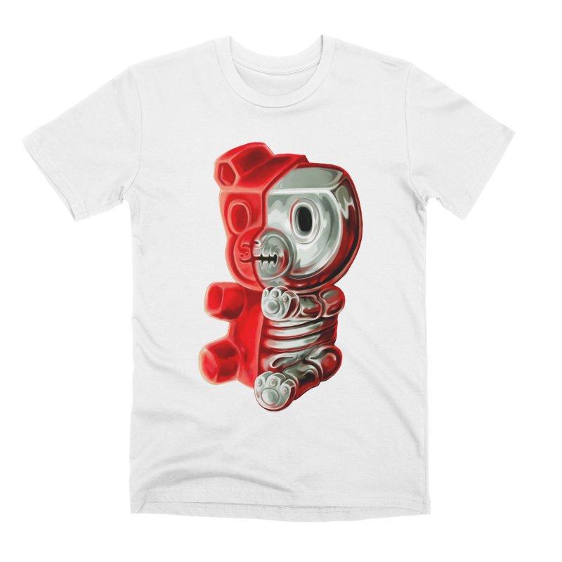 Inside Gummy Bear Men's T-Shirt by villainmazk's Artist Shop