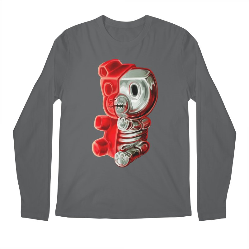 Inside Gummy Bear Men's Longsleeve T-Shirt by villainmazk's Artist Shop