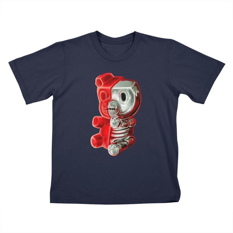 Inside Gummy Bear Kids T-Shirt by villainmazk's Artist Shop