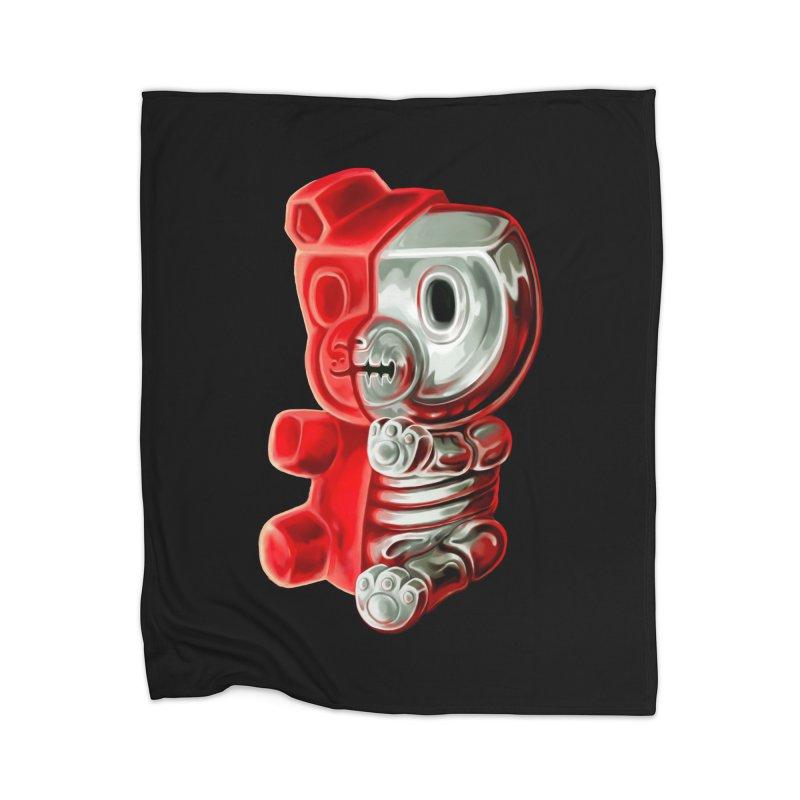 Inside Gummy Bear Home Blanket by villainmazk's Artist Shop