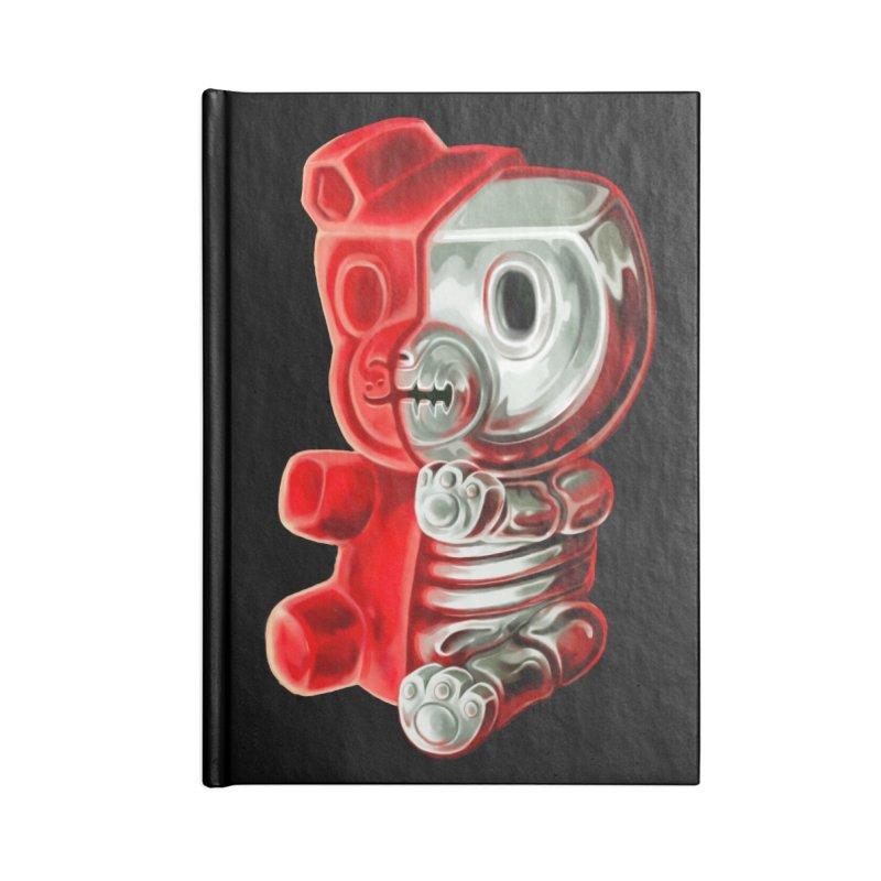 Inside Gummy Bear Accessories Notebook by villainmazk's Artist Shop