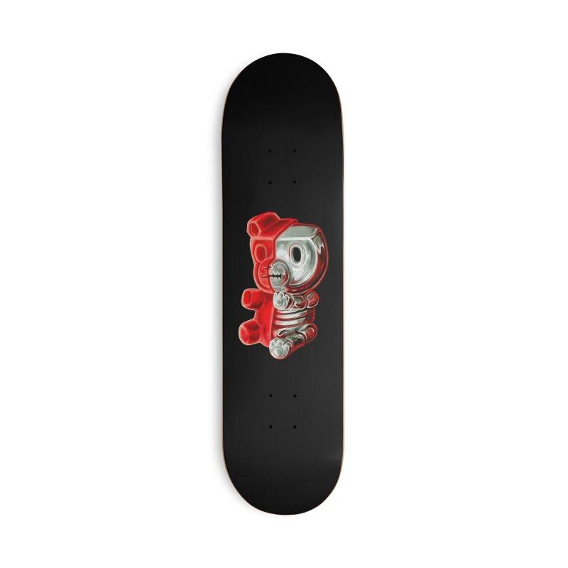 Inside Gummy Bear Accessories Skateboard by villainmazk's Artist Shop