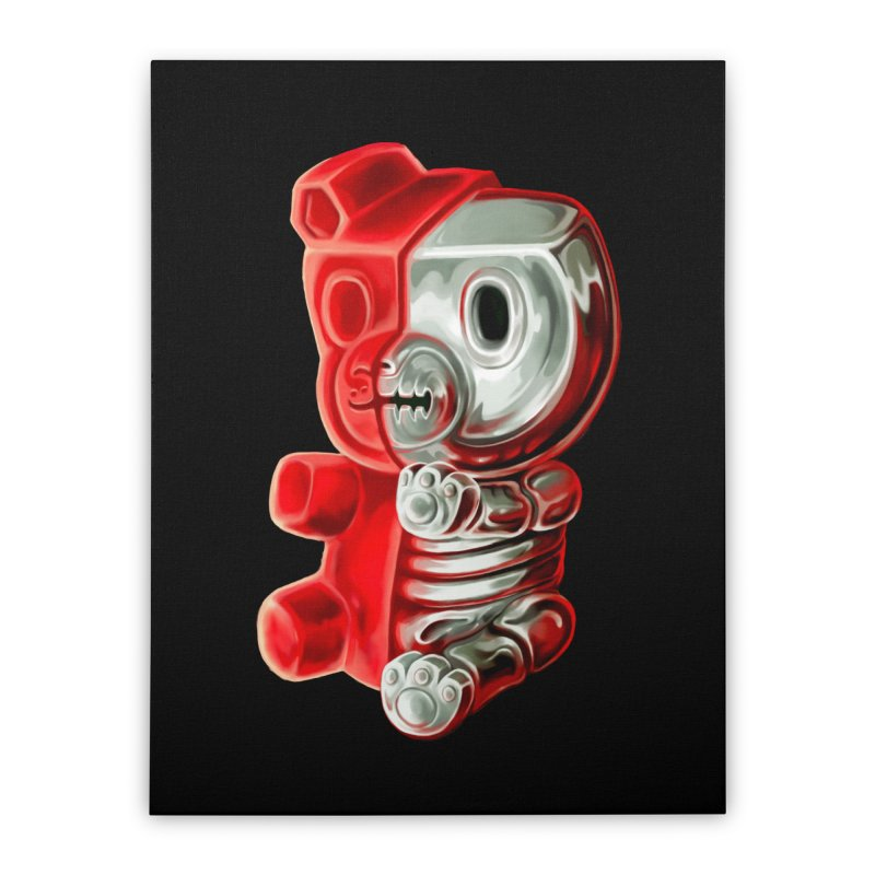 Inside Gummy Bear Home Stretched Canvas by villainmazk's Artist Shop