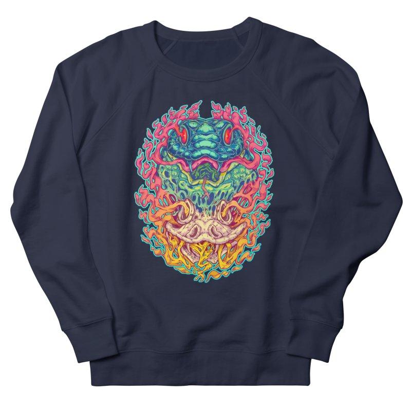 Serpent Revenge Men's Sweatshirt by villainmazk's Artist Shop